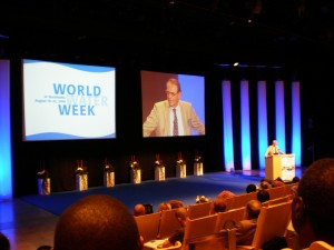 Jan Eliasson addressed World Water Week
