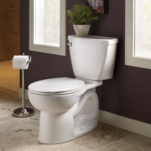 The water-saving Cadet 3 FloWise toilet from American Standard