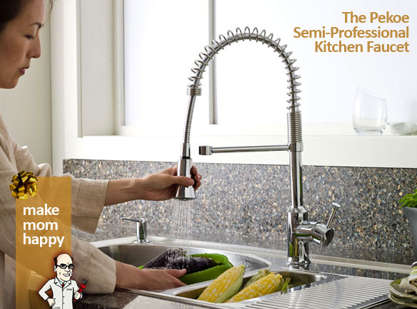 The Pekoe Semi-Professional Kitchen Faucet